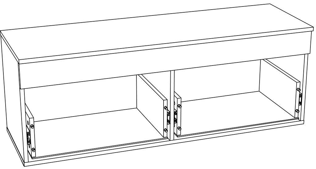 Тумбы и шкафы для обуви: Тумба LIVORNO НМ 040.72 в Стильная мебель