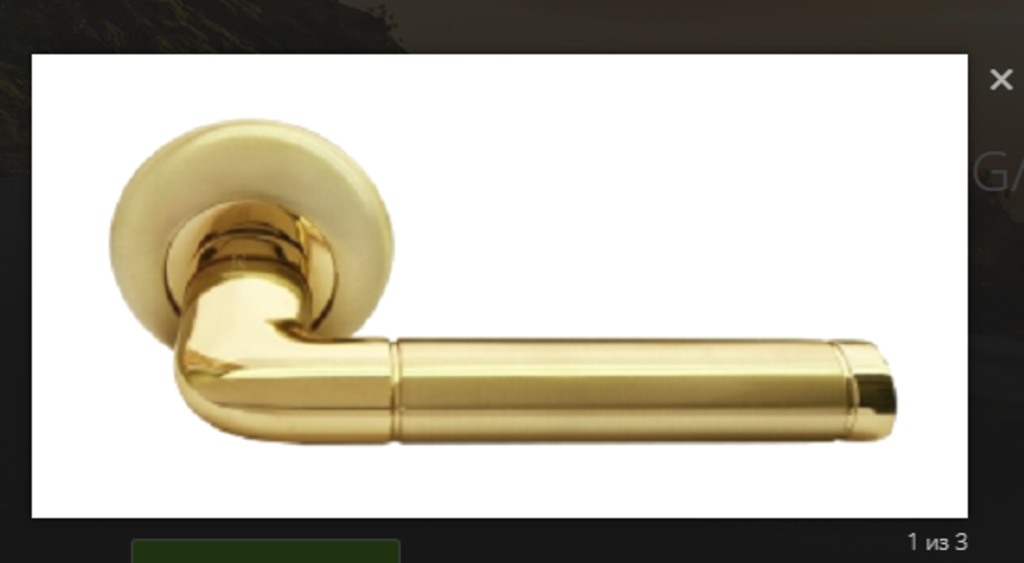 Ручки: Ручка Ручетти RAP-2 SG в Двери в Тюмени, межкомнатные двери, входные двери