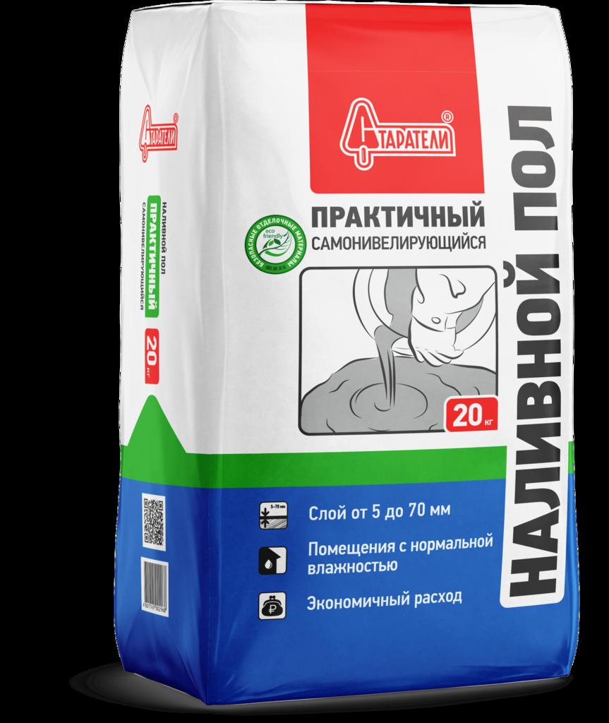 Ровнитель пола: Ровнитель пола Практичный (Старатели) 20 кг в АНЧАР,  строительные материалы
