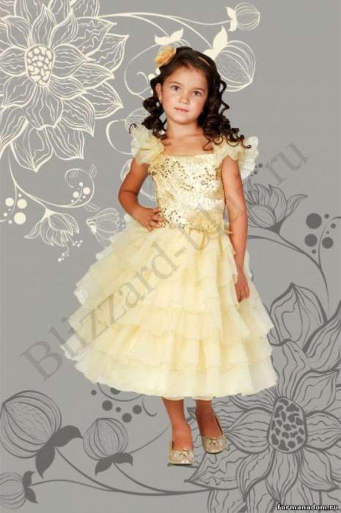 Платья и сарафаны для девочек: Платье Тиана в Чиполлино,  магазин детской одежды