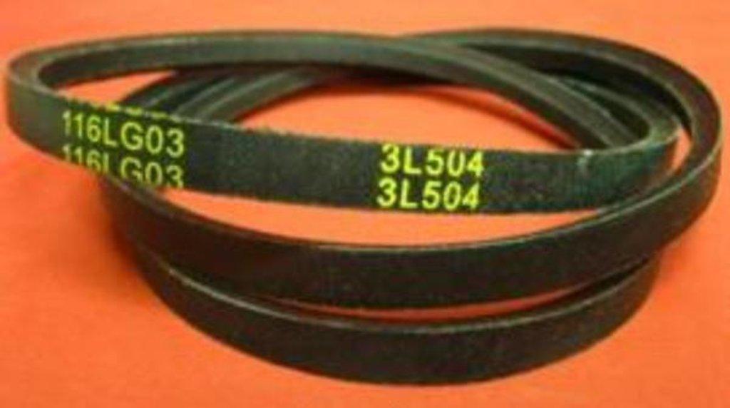 Ремни привода барабана: Ремень для стиральной машины 3L504 в АНС ПРОЕКТ, ООО, Сервисный центр