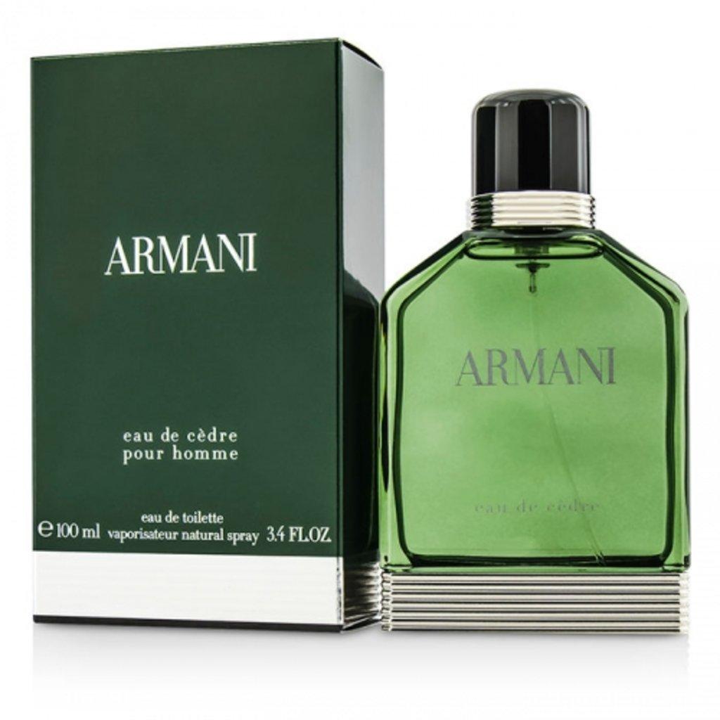 Мужская туалетная вода Armani: Armani Eau de Cedre edt м 50 | 100 ml в Элит-парфюм