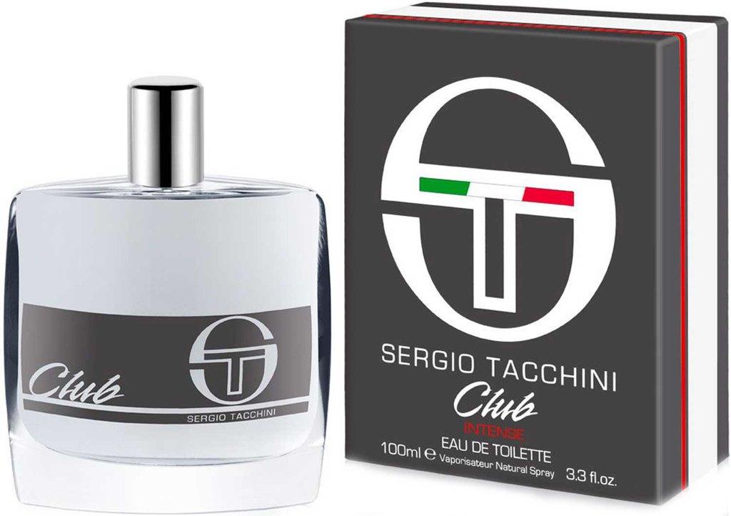Мужская туалетная вода Sergio Tacchini: Sergio Tacchini Club Intense Туалетная вода м 50 | 100ml в Элит-парфюм