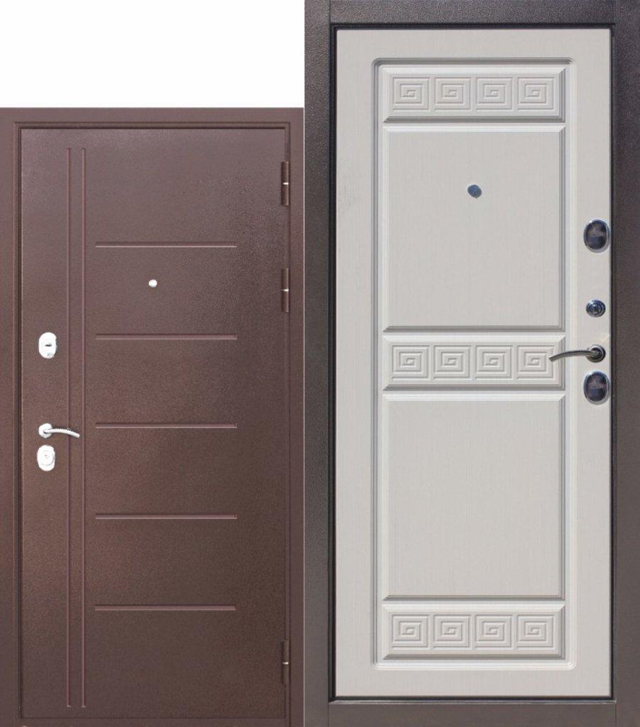 Двери завода Феррони: 10 см Троя Антик Белый ясень в Модуль Плюс