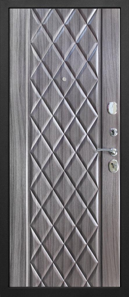 Входные двери (премиум)  от 90-110мм: Входная дверь  ТРОЯ Муар в Пластиковые окна в Сургуте STEKLOMASTER