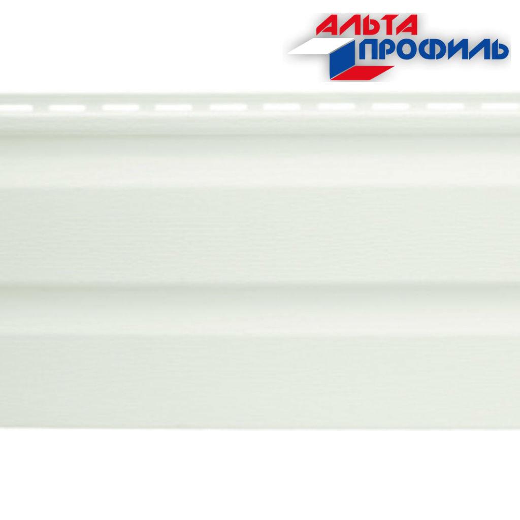 Виниловый Сайдинг: Альта-Сайдинг, виниловый, белый, 3,66м в АНЧАР,  строительные материалы
