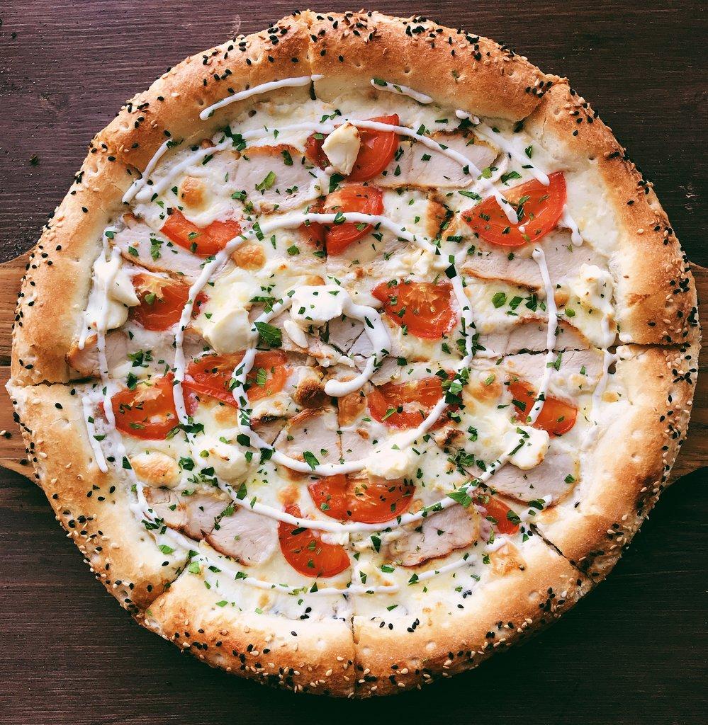 Пицца: Сырный цыплёнок в Пиццуля Кемерово