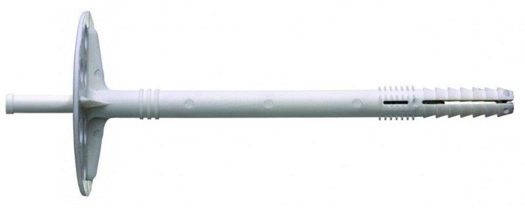 Дюбель гвоздь для теплоизоляции: Дюбель для теплоизоляции с пластиковым гвоздем 10*100 (200 шт) в АНЧАР,  строительные материалы