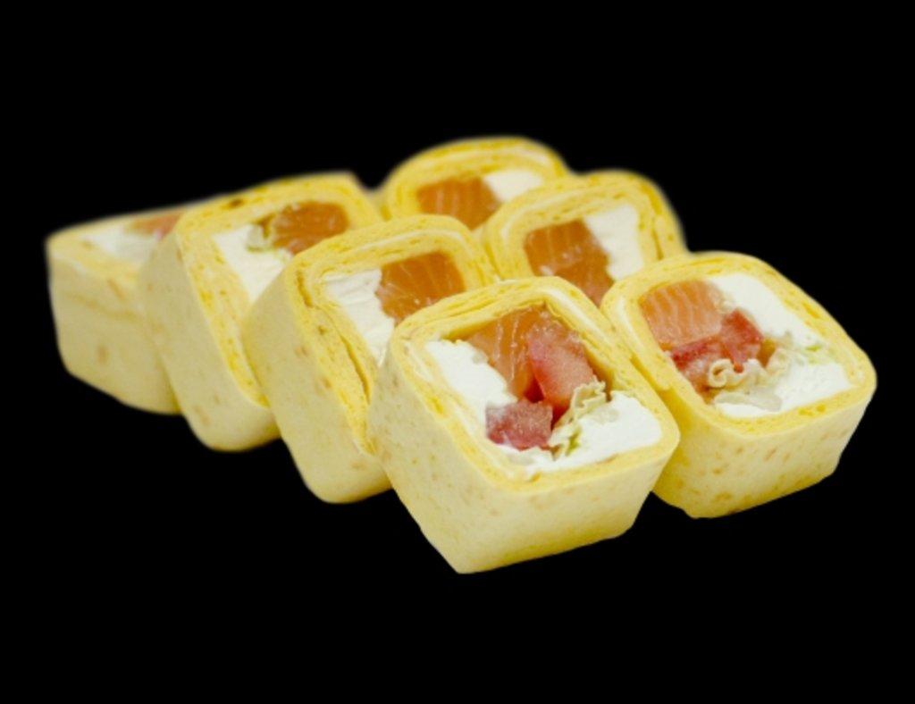Роллы: Тортилья с лососем в ХИТО СУШИ