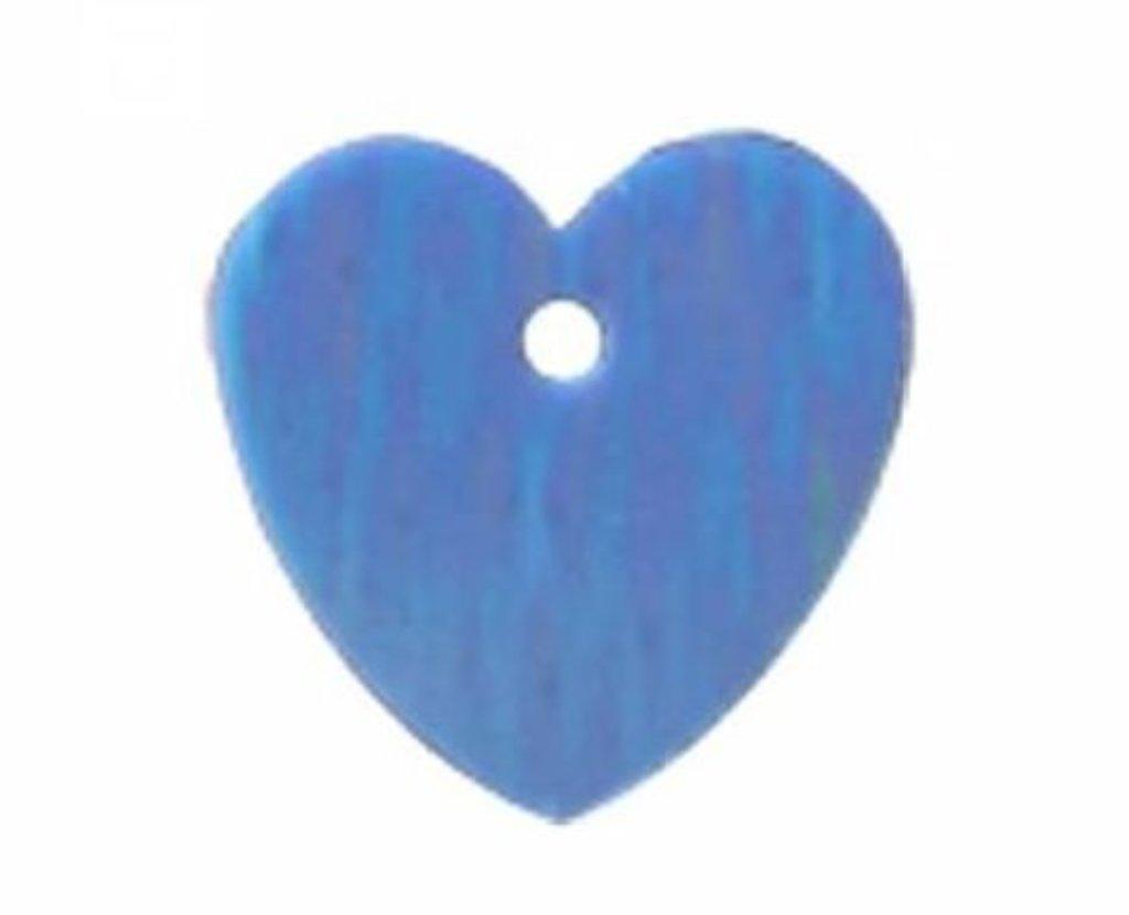 """Сердечки: Пайетки""""сердечки""""10*10мм.,упак/10гр.Астра(цвет:17 св.бирюзовый) в Редиант-НК"""