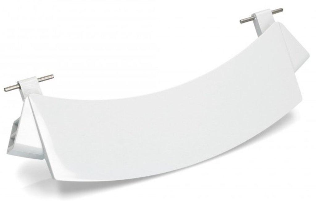 Ручки, крючки, петли, стекла и рамки люка для стиральной машины: orig.Ручка двери белая в сборе с осями Bosch,(A659273), зам. DHL0028BO, 00659277 в АНС ПРОЕКТ, ООО, Сервисный центр