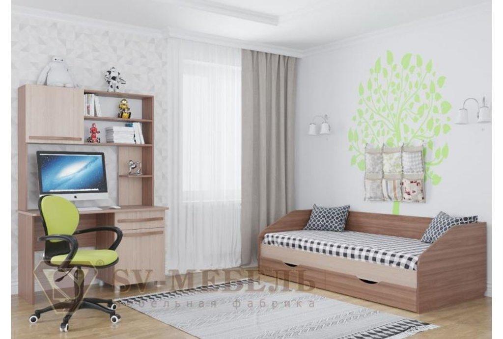 Мебель для детской Алекс-1: Стол Алекс-1 в Диван Плюс