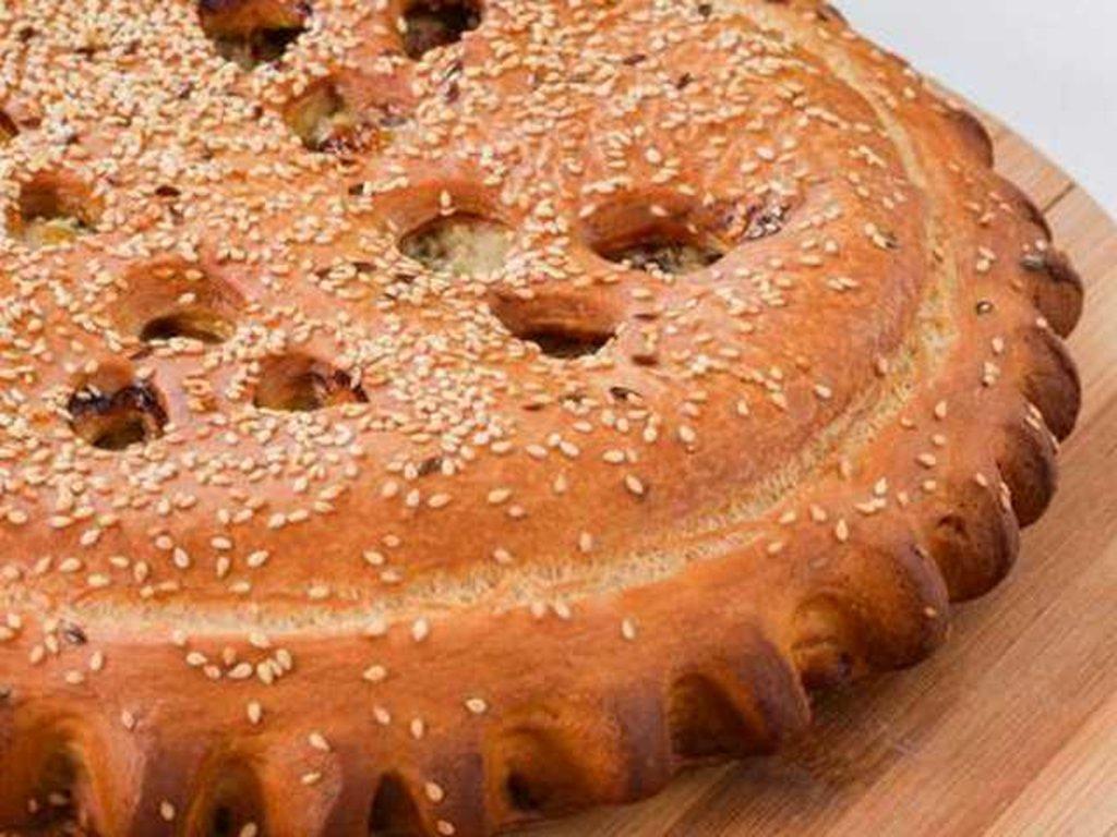 Овощные: Пирог с картофелем и грибами в Провиант