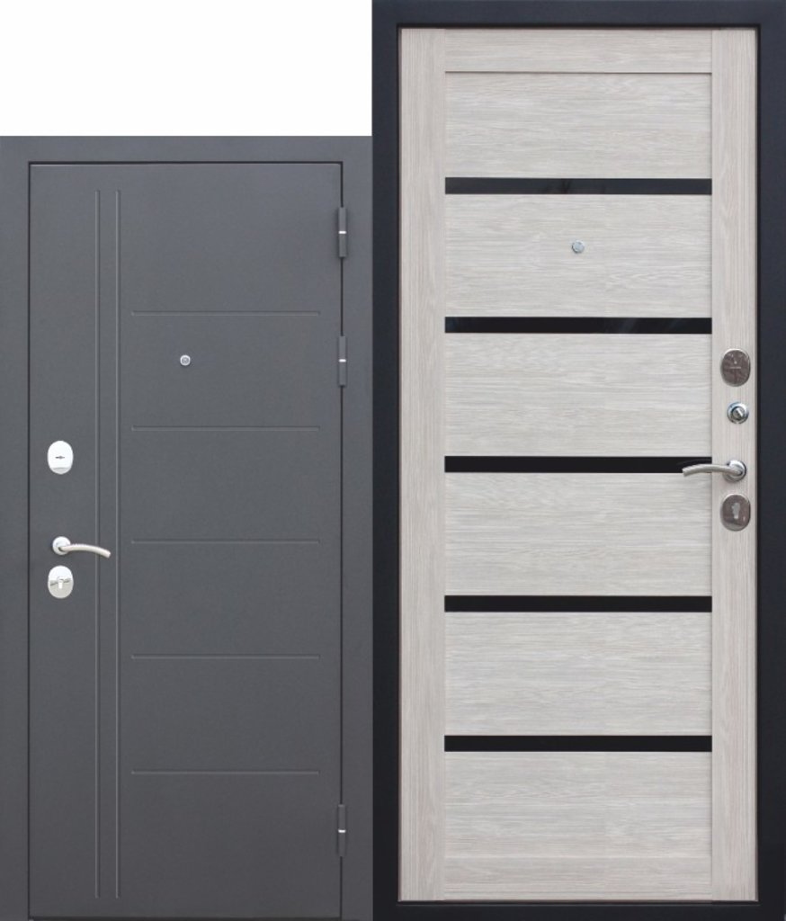 Двери завода Феррони: 10 см Троя муар Лиственница мокко в Модуль Плюс