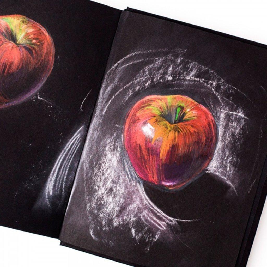 Бумага для рисования и графики: Бумага для сухих техник GrafArt black Малевичъ, 150г/м, А2, 1лист в Шедевр, художественный салон