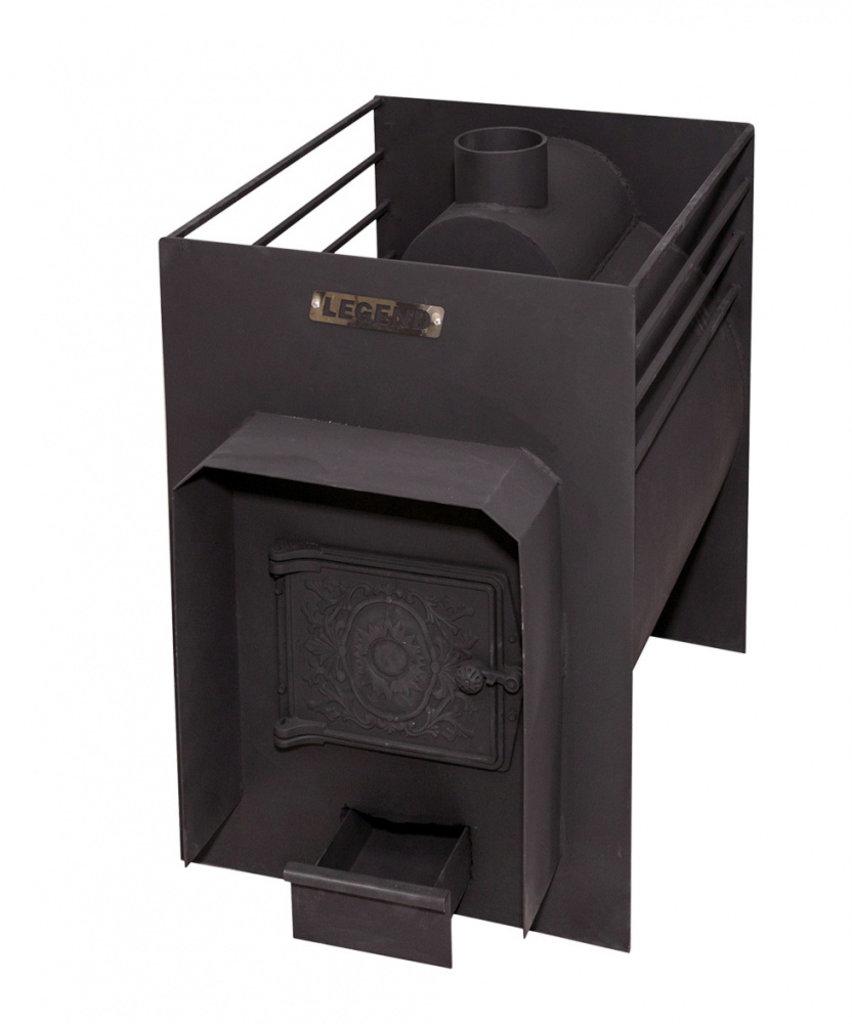 Печи и дымоходы: Печь для бани Сабантуй Легенда Классик 20, конструкционная сталь 9 мм. в Погонаж