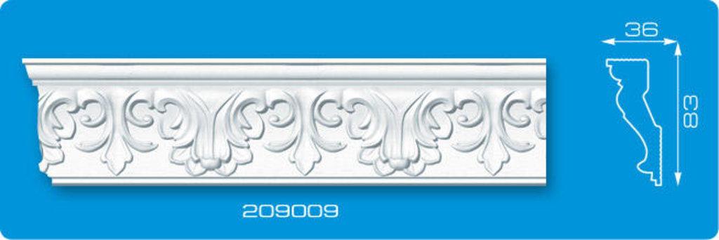 Плинтуса потолочные: Плинтус потолочный ФОРМАТ 209009 инжекционный длина 2м в Мир Потолков