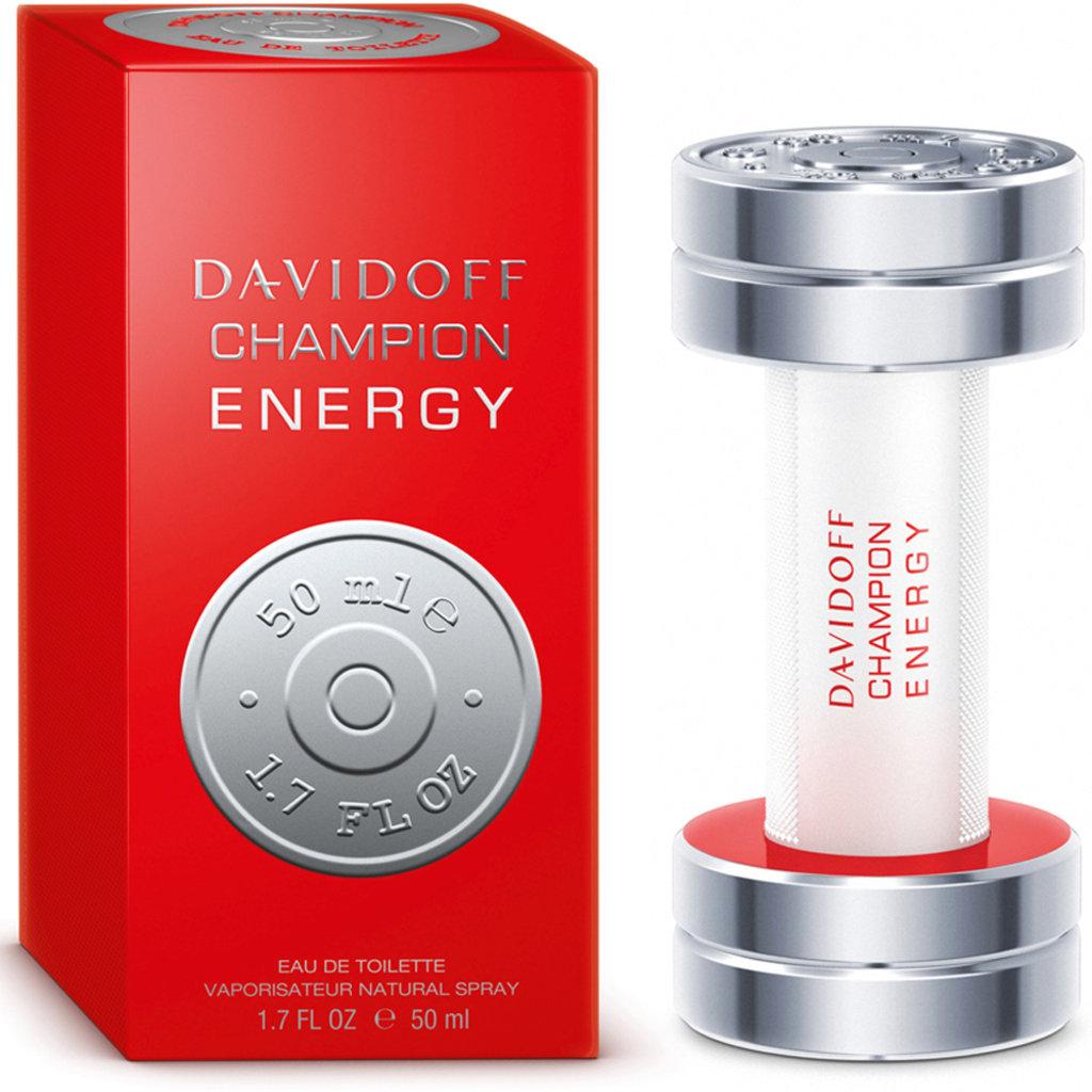 Davidoff: Туалетная вода Davidoff Champion Energy edt м 50 ml в Элит-парфюм