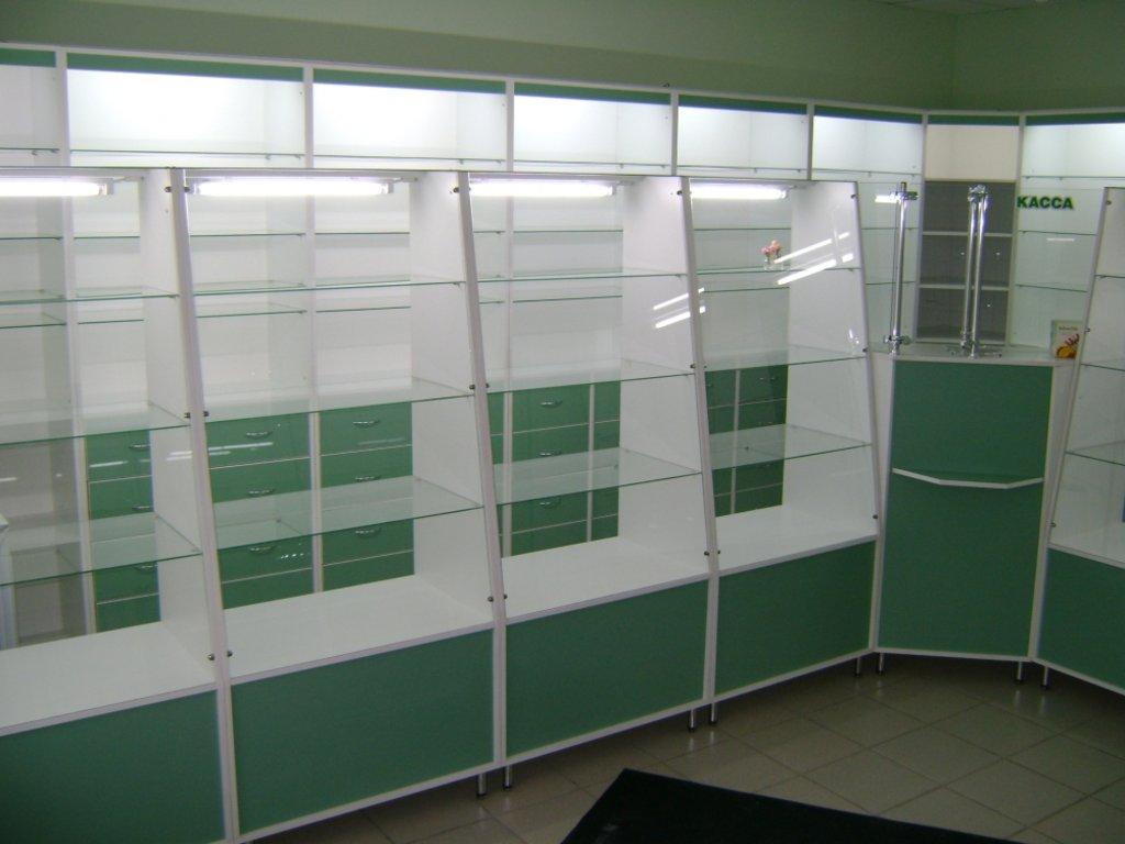 Мебель для аптеки: Витрины для аптек в Студия Мебели