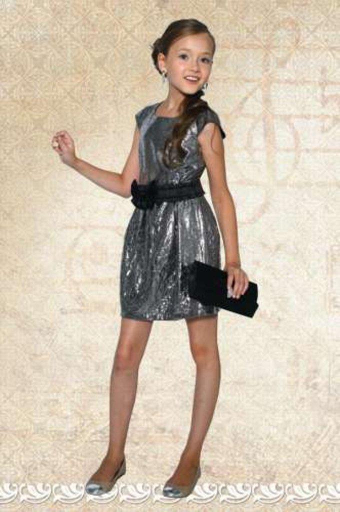 Платья и сарафаны для девочек: Платье Dools-Girls 424 в Чиполлино,  магазин детской одежды