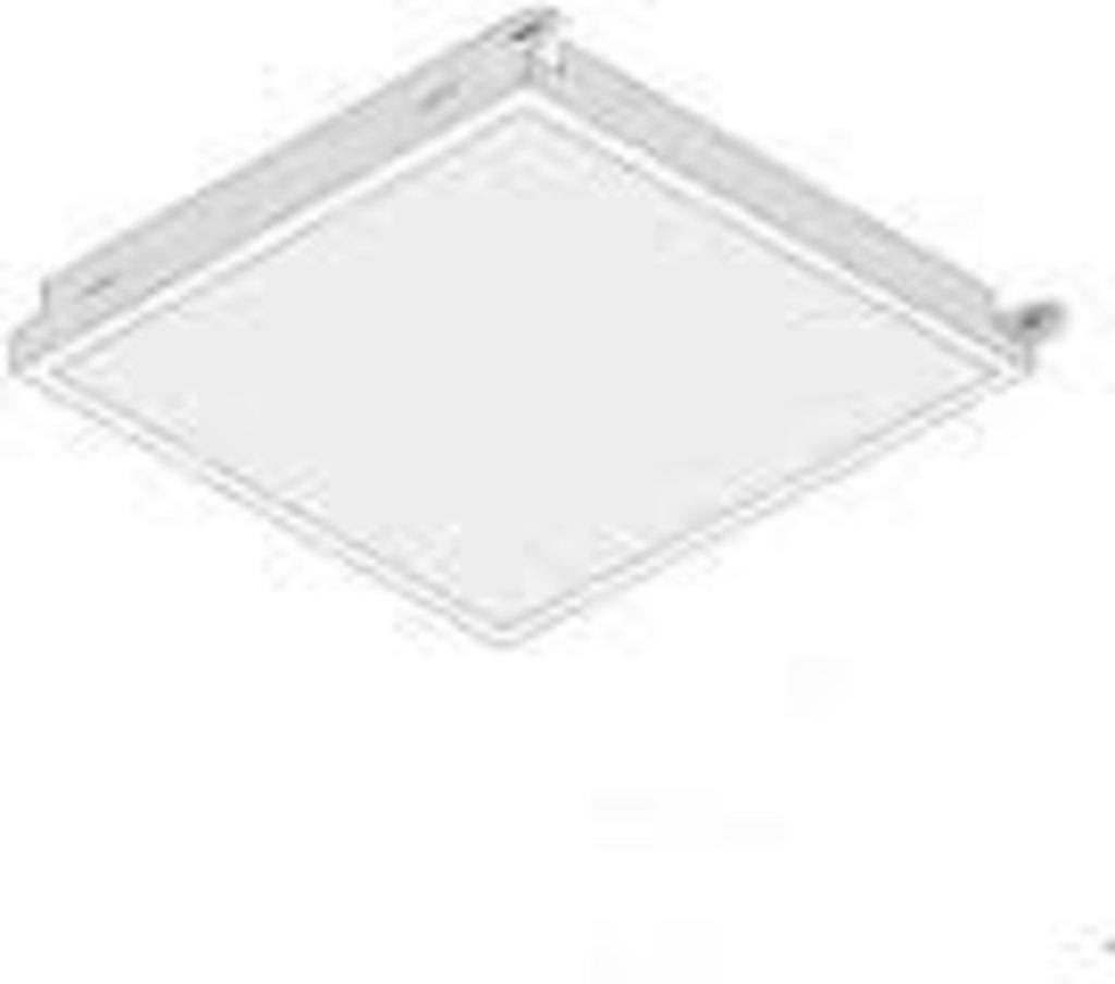 Кассетные металлические потолки: Кассета AP600*1200AC/90° белый матовый А910 перф. в Мир Потолков
