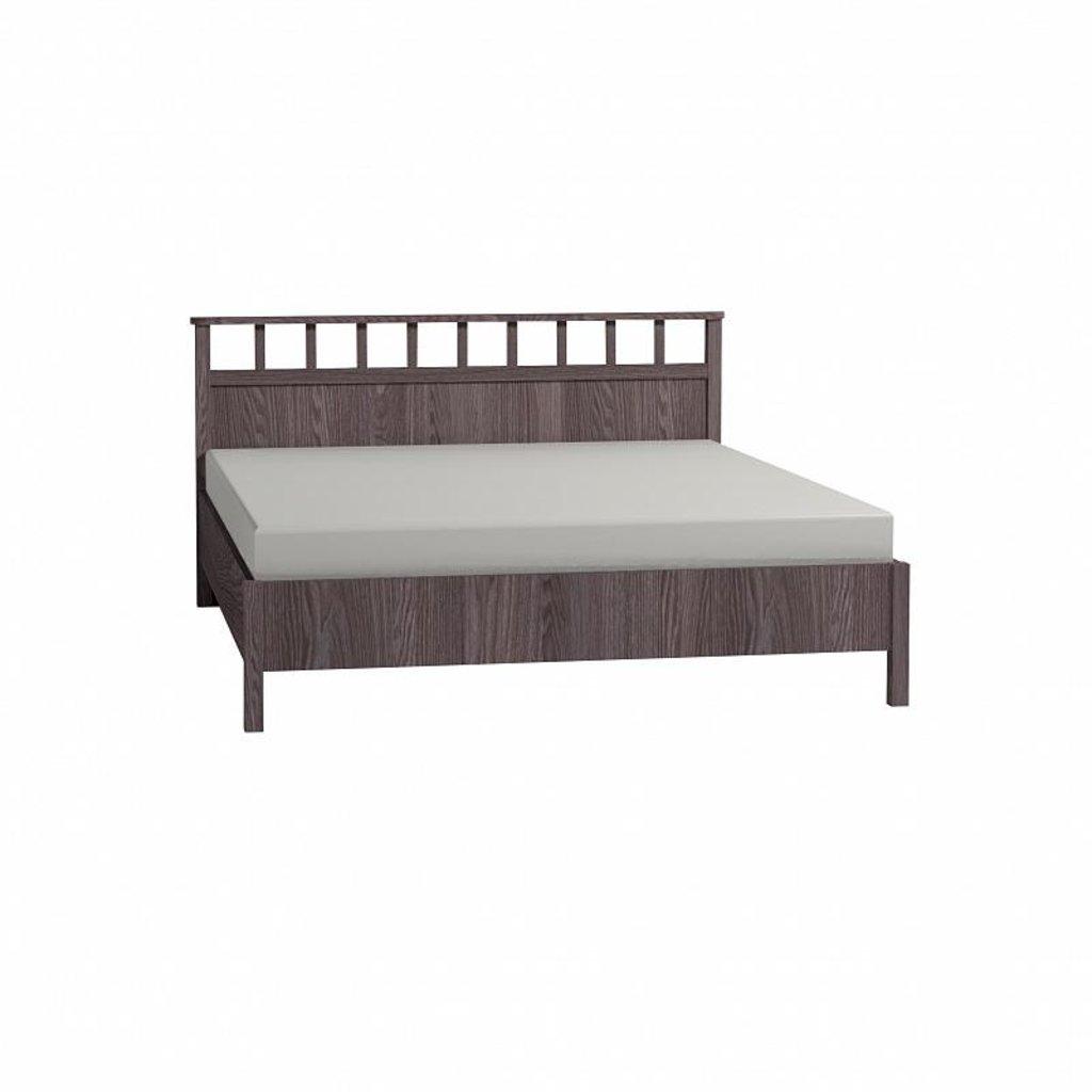 Кровати: Кровать Люкс Sherlock 46 (1800, орт. осн. металл) в Стильная мебель