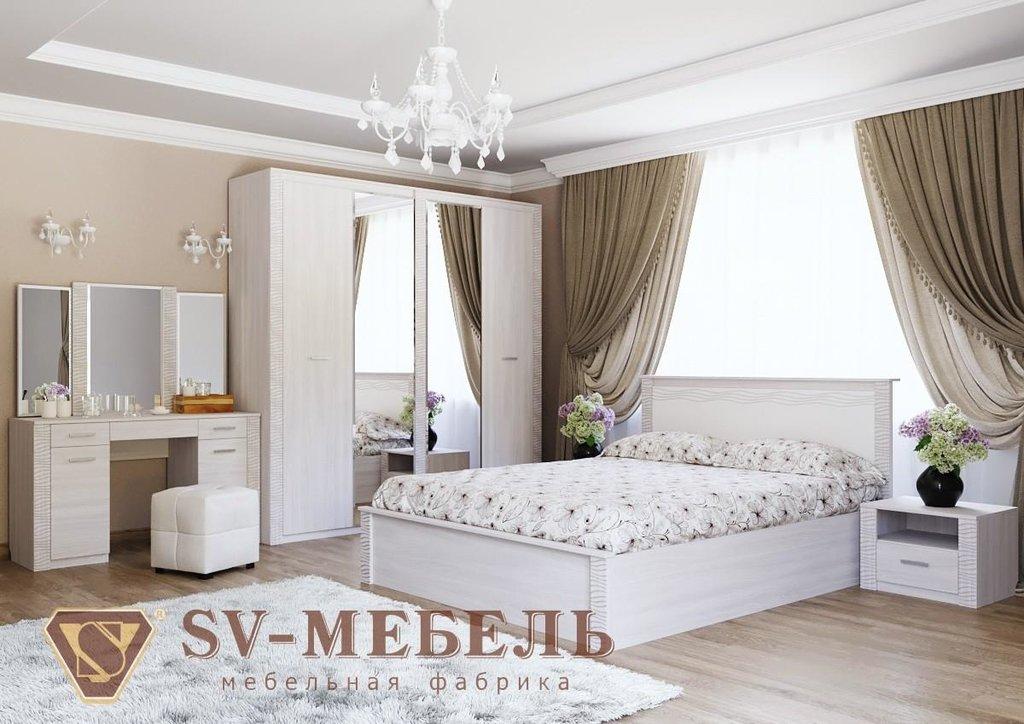 Мебель для спальни Гамма-20: Кровать двойная 1,6*2,0 Гамма-20 в Диван Плюс