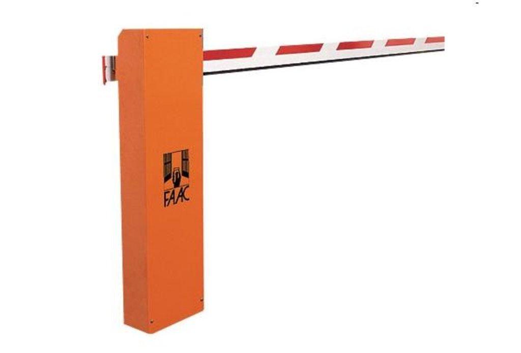 Автоматический шлагбаум и комплектующие: Шлагбаум FAAC 615 BPR комплект (стрела до 5 м, интенсив. 50%) в АБ ГРУПП