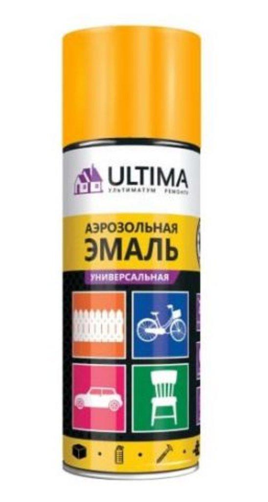 Универсальные: Краска-спрей Ultima,оранжевая флуоресцентная, 520мл в Шедевр, художественный салон