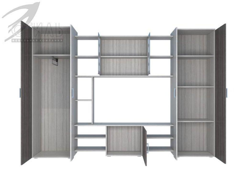 Гостиные: Мебель для гостиной Атлантида - 1 (шимо светлый / шимо темный) в Диван Плюс