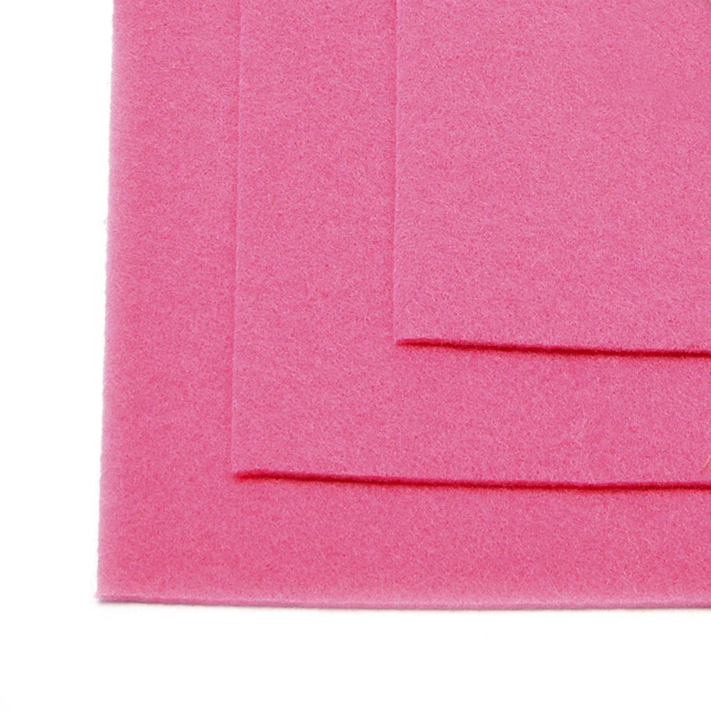 Фетр: IDEAL Фетр жёсткий 1мм 20*30см розовый 1лист в Шедевр, художественный салон
