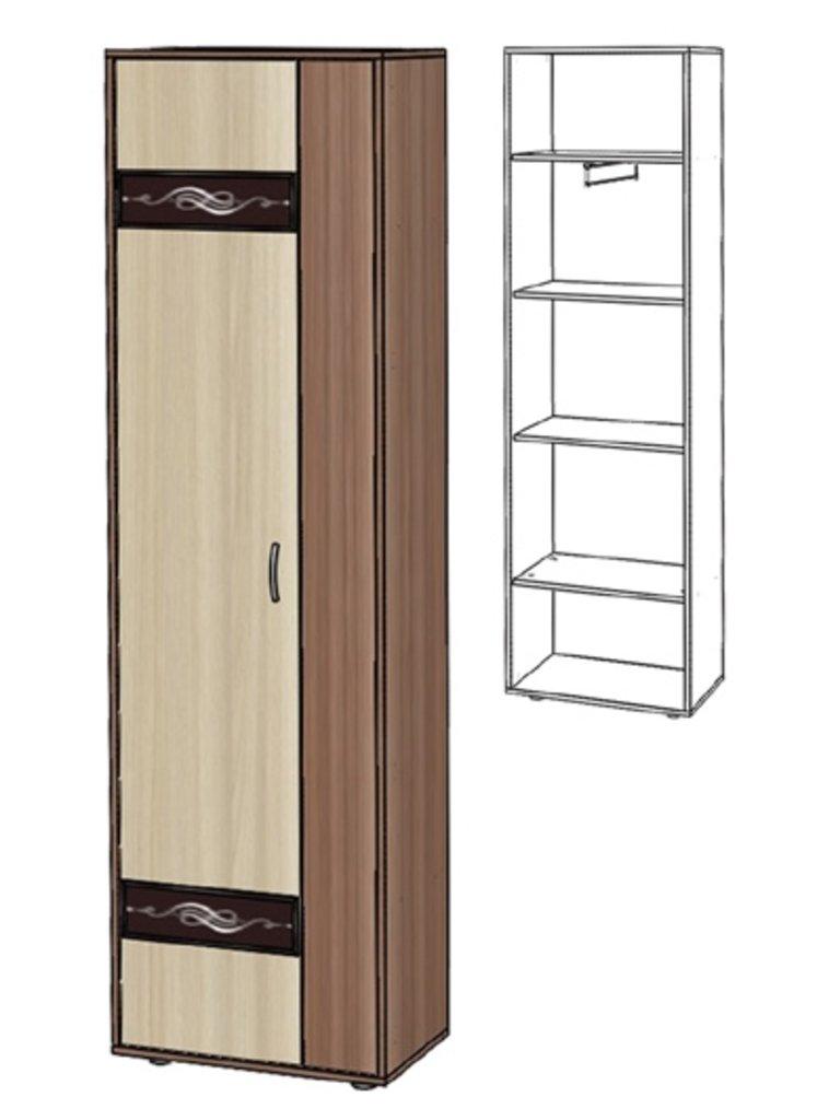 Шкафы для прихожих: Шкаф-пенал Инфинити в Стильная мебель