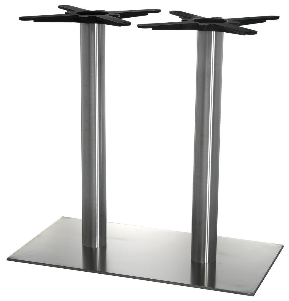 Подстолья для столов.: Подстолье 1275EM (нержавеющая сталь матовое) в АРТ-МЕБЕЛЬ НН