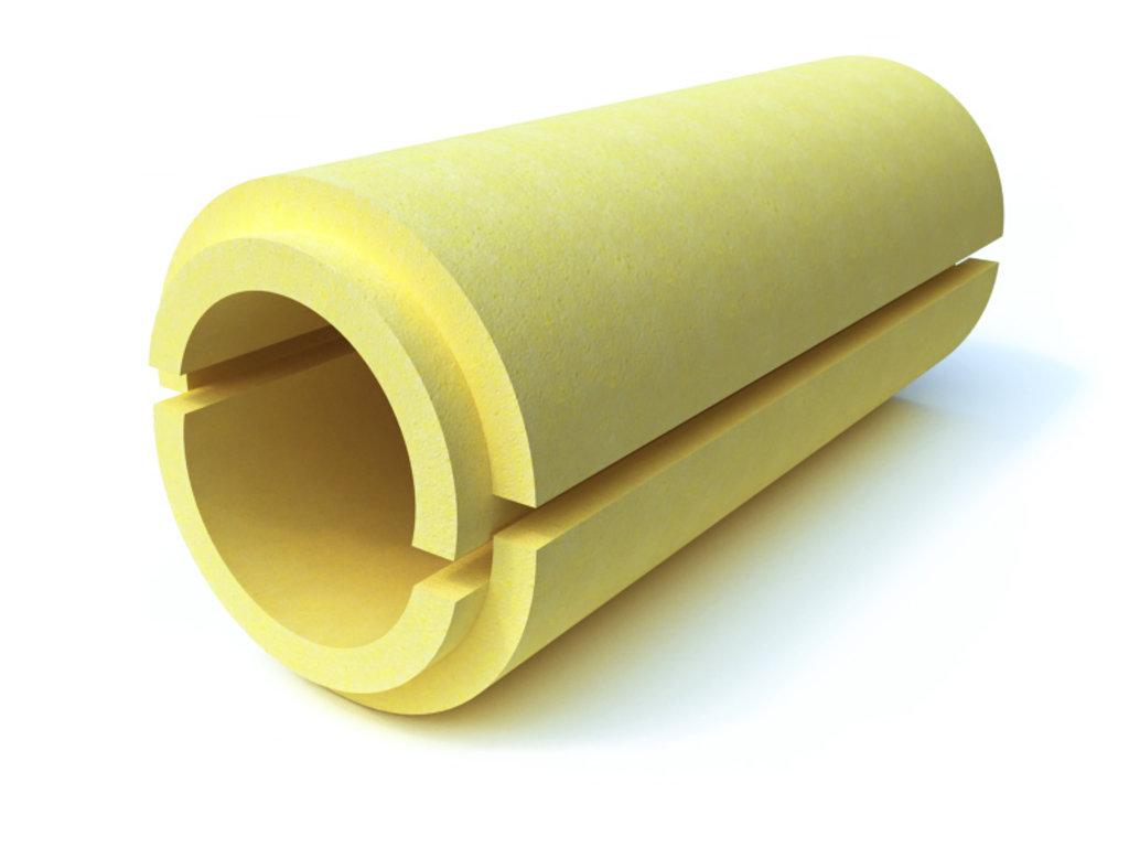 Теплоизоляция для труб: Скорлупа ППУ без покрытия (d108мм, толщина 60 мм) в Теплолюкс-К, инженерная компания