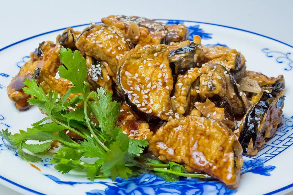 Овощные блюда: Тан Цу в Шанхай