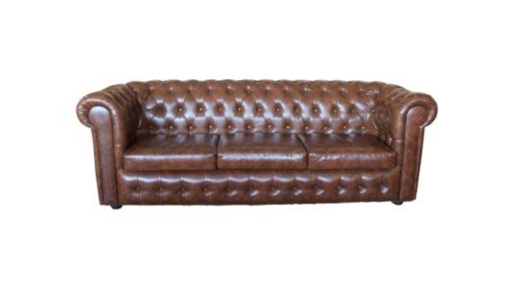 Диваны и мягкие кресла: Диван Честерфилд 2,4 (трехместный) в Стильная мебель