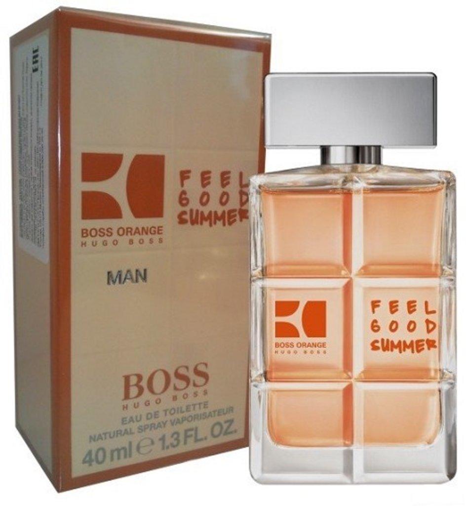 Boss: Hugo Boss Orange for Men Feel Good Summer edt м 40   60 ml в Элит-парфюм