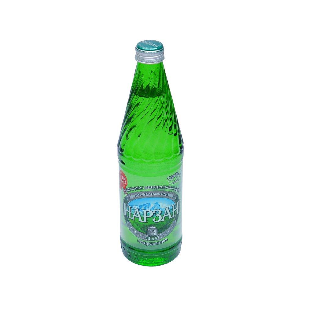Вода 0,5 - 1,5 л: Нарзан 0,5  стекло в ТСК+, ООО