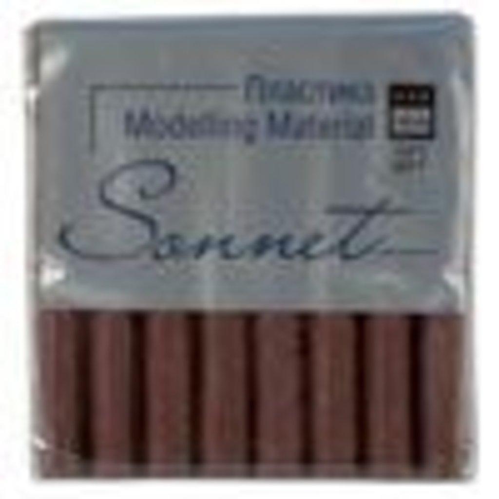 """Sonnet пластика цветная с блёстками: Пластика """"Sonnet"""" коричневый с блестками 56гр в Шедевр, художественный салон"""