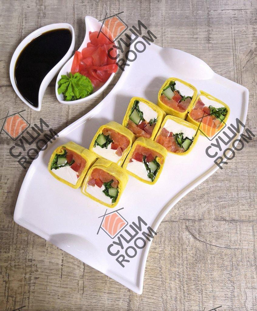 Роллы: Тортилья с лососем в Суши Room