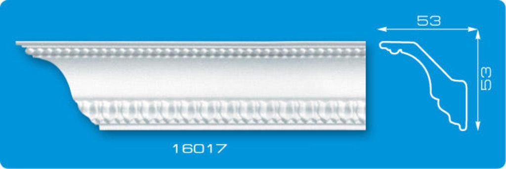 Плинтуса потолочные: Плинтус потолочный ФОРМАТ 16017 инжекционный длина 1,3м, средний в Мир Потолков