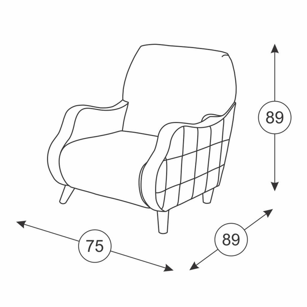 Кресла Робби: Кресло Робби ТК 233 в Диван Плюс