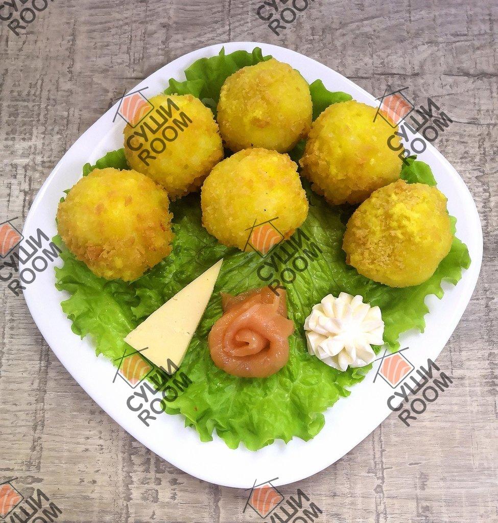 Закуски: Рисовые шарики в Суши Room