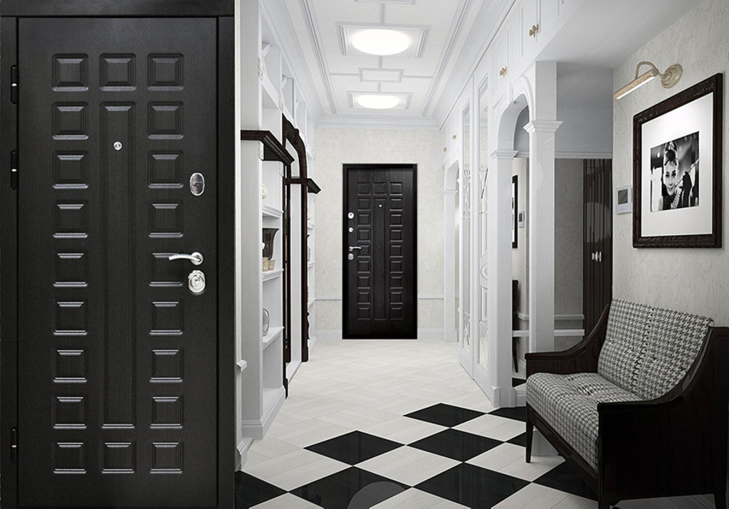 Двери завода Феррони: 12 см СЕНАТОР МДФ/МДФ (Венге/Венге) в Модуль Плюс