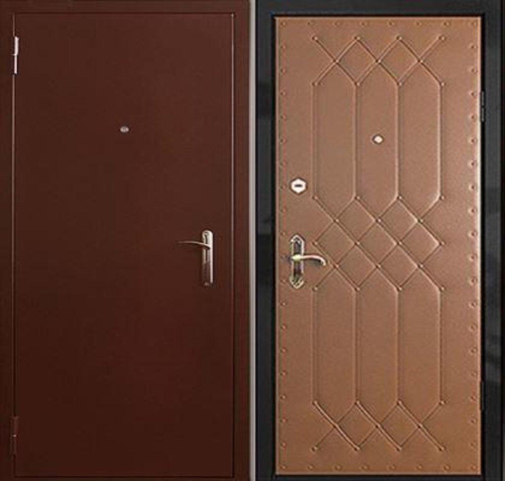 Стальные двери: Металлическая дверь Люкс 3 в Мир дверей