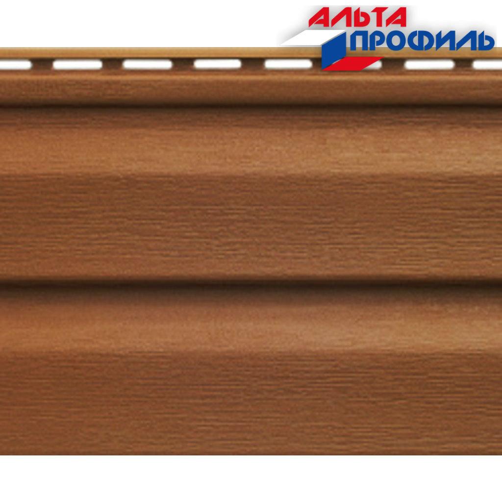 Акриловый сайдинг: Панель акриловая Аляска Люкс Браун - 3,00 х 0,205 м. в АНЧАР,  строительные материалы