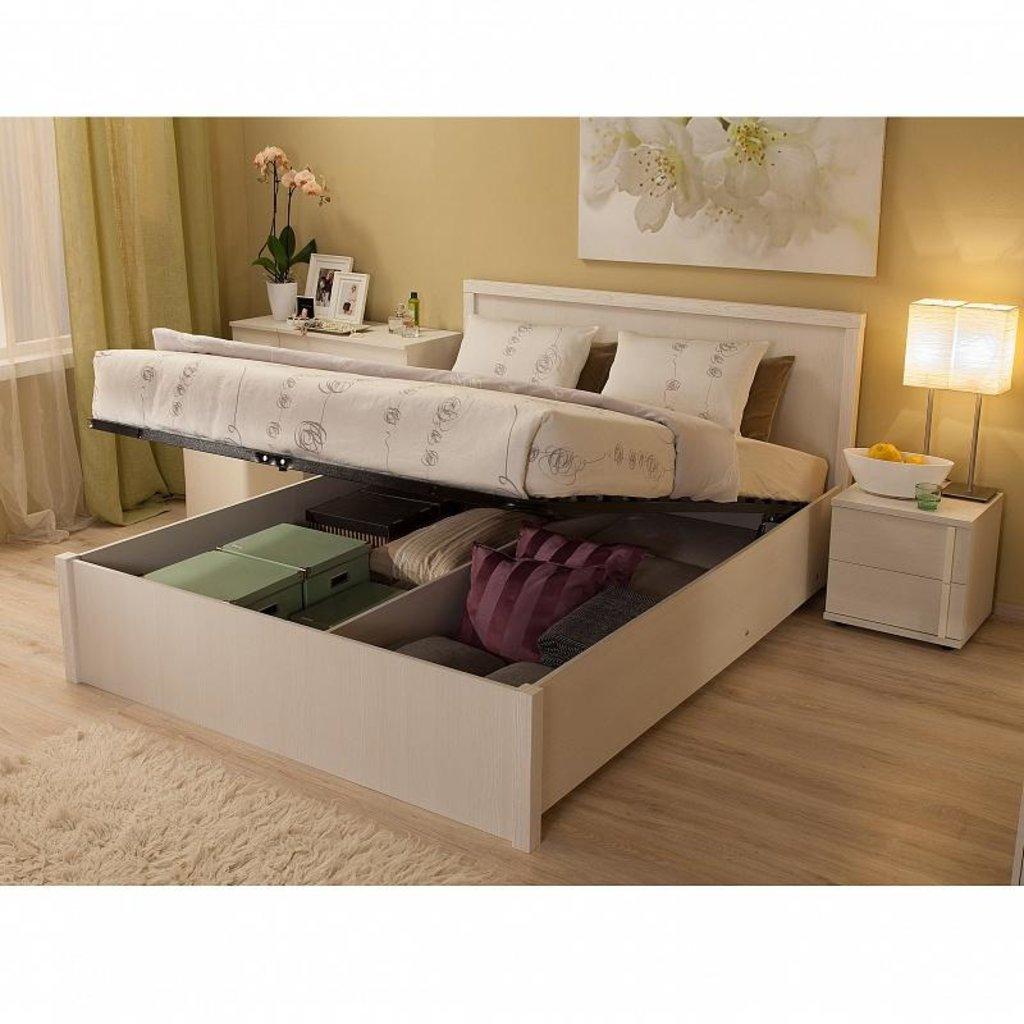 Кровати: Кровать BAUHAUS 2.2 (1600, мех. подъема) в Стильная мебель