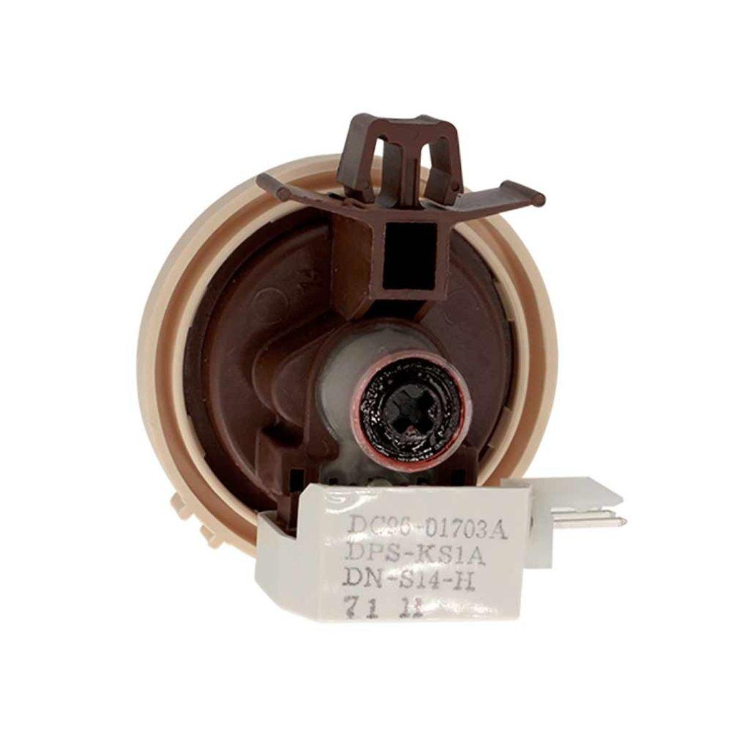 Датчики/выключатели/переключатели: Прессостат (датчик уровня воды) аналоговый для стиральных машин Samsung (Samsung) DC96-01703A в АНС ПРОЕКТ, ООО, Сервисный центр