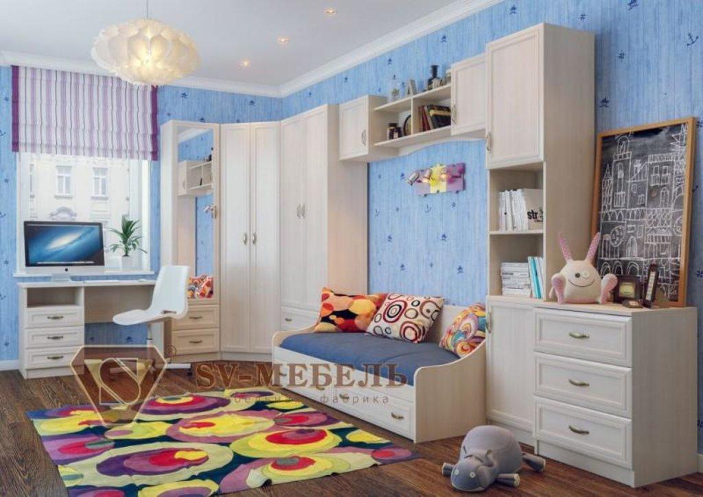 Мебель для детской Вега: Полка навесная (2,04 м) Вега ДМ-10 в Диван Плюс