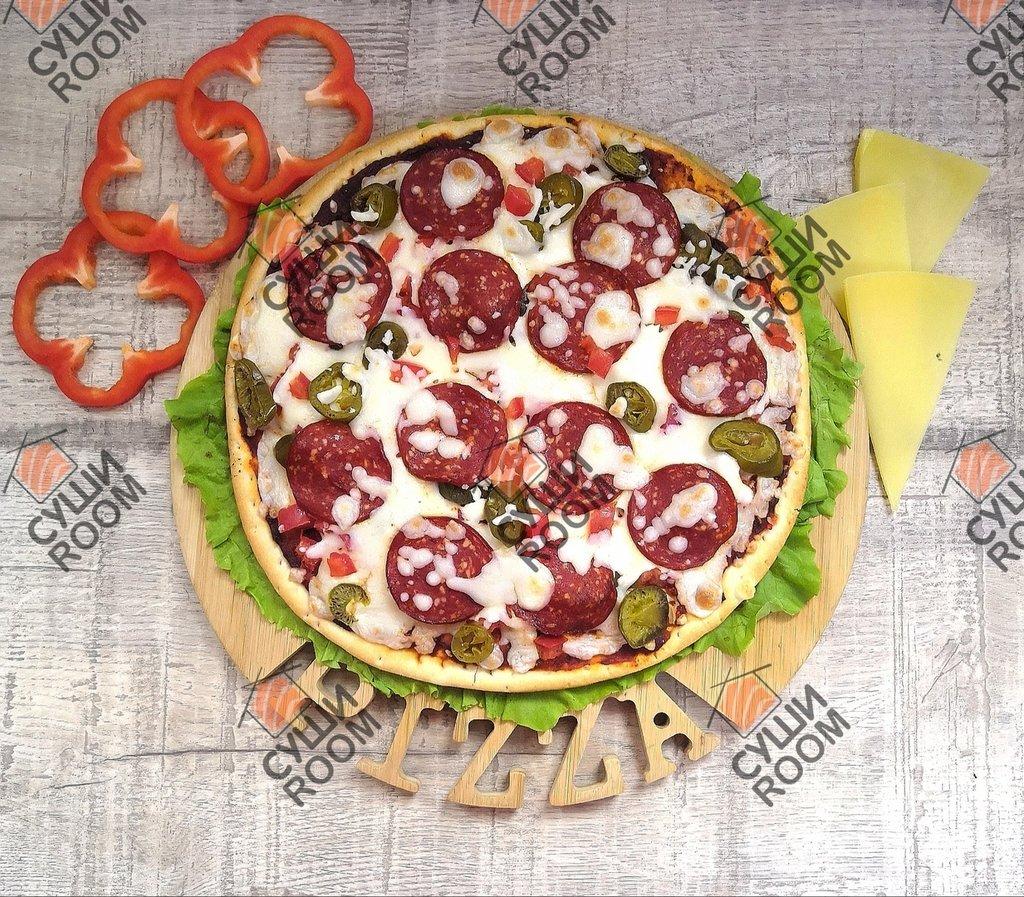Пицца: Пепперони Дьябло в Суши Room